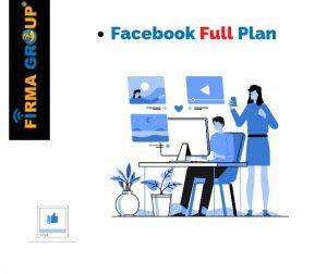 Facebook Full plan | Firma Group Digital Marketing Agency